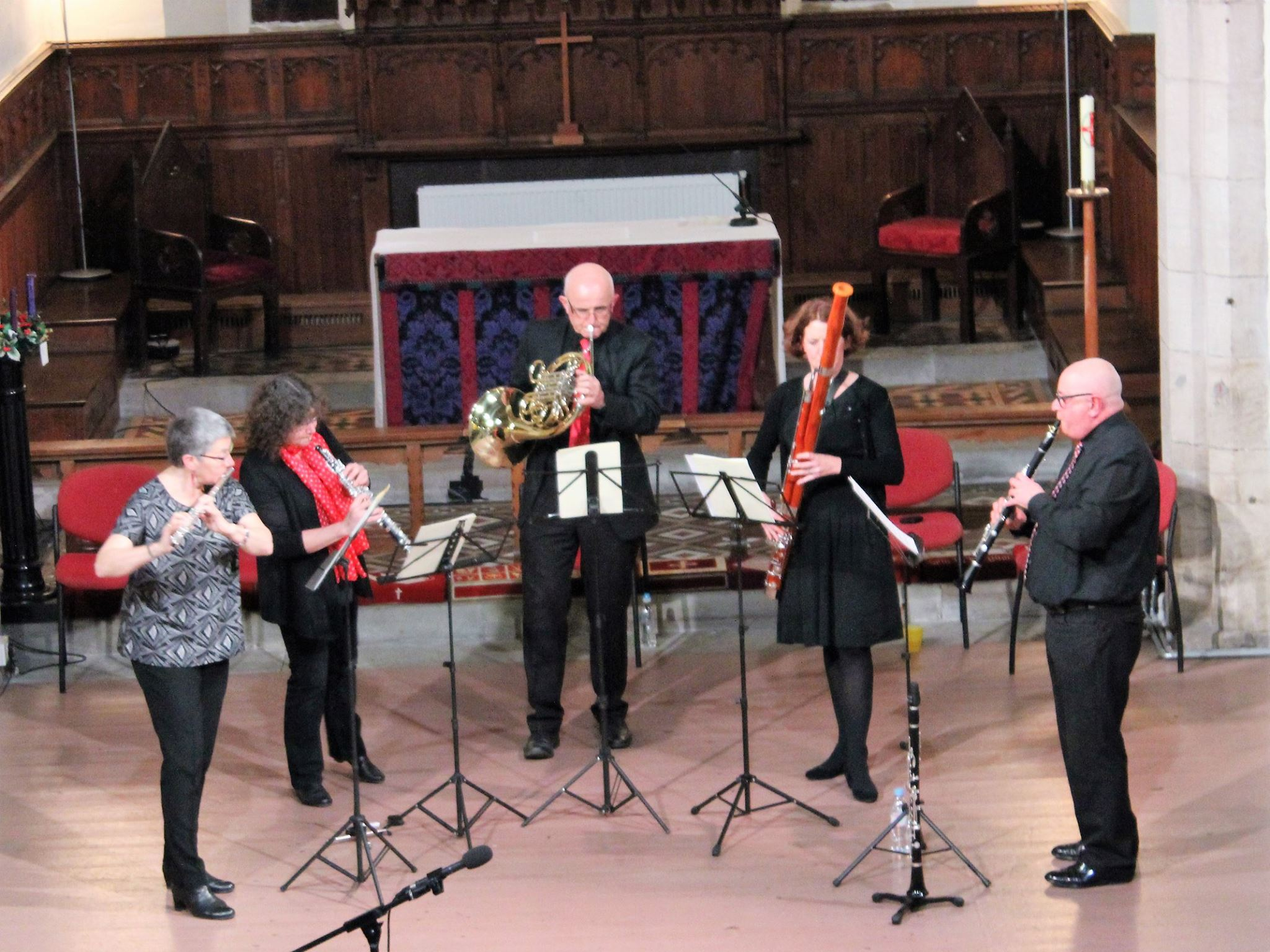 Playing at Castlegate Singers Christmas Concert 2016